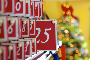 Image of holiday advent calendar