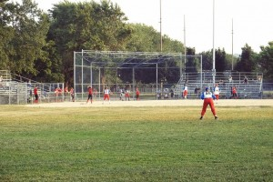 womens softball game
