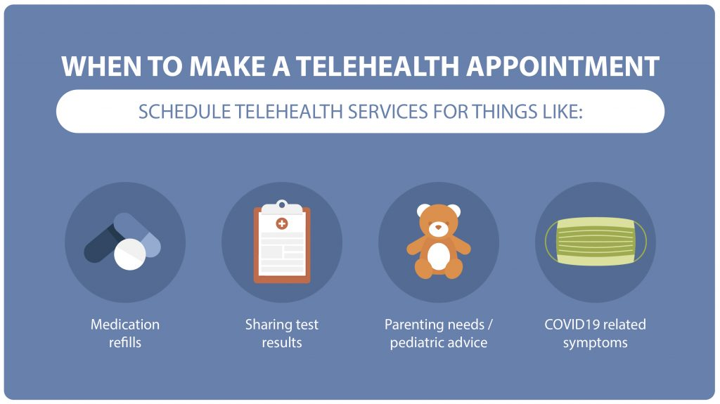 How to make a Telehealth appointment