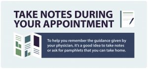 take-notes-during-appointment-primary-care-tips-visual