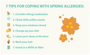 coping with spring allergies