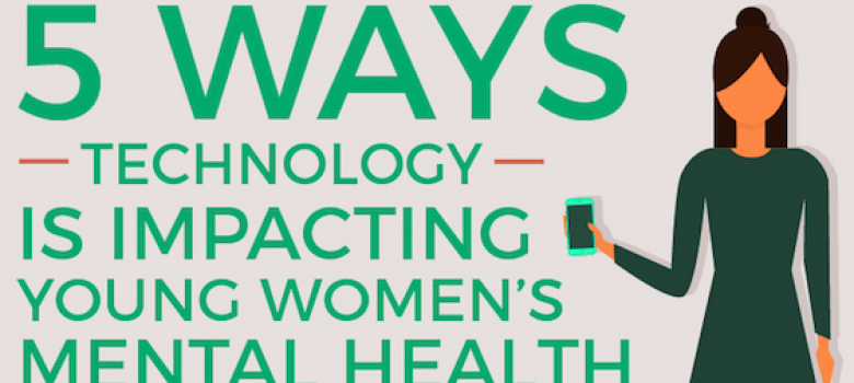 5 Ways Technology Impacts the Mental Health of Young Women [Infographic]