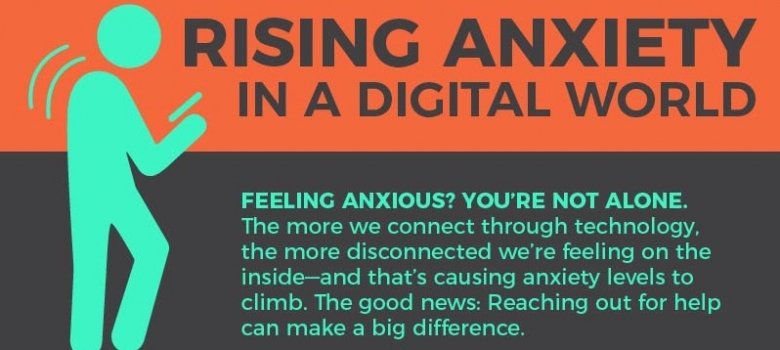 Rising Anxiety in a Digital World [Infographic]